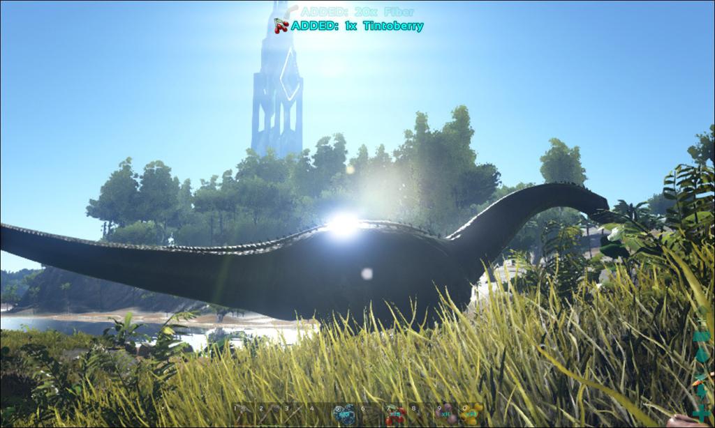 ブロント サウルス ark